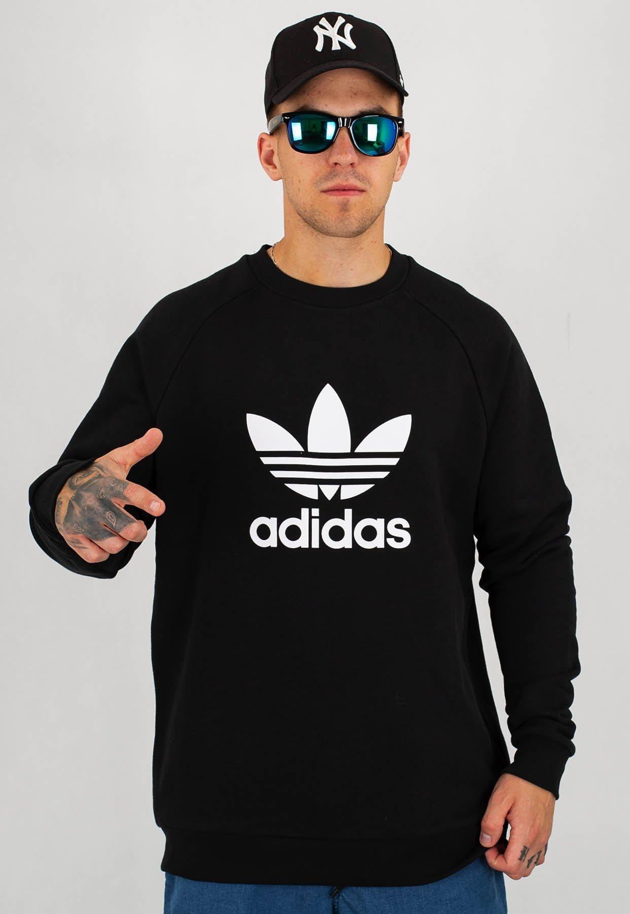 adidas bluza czarna