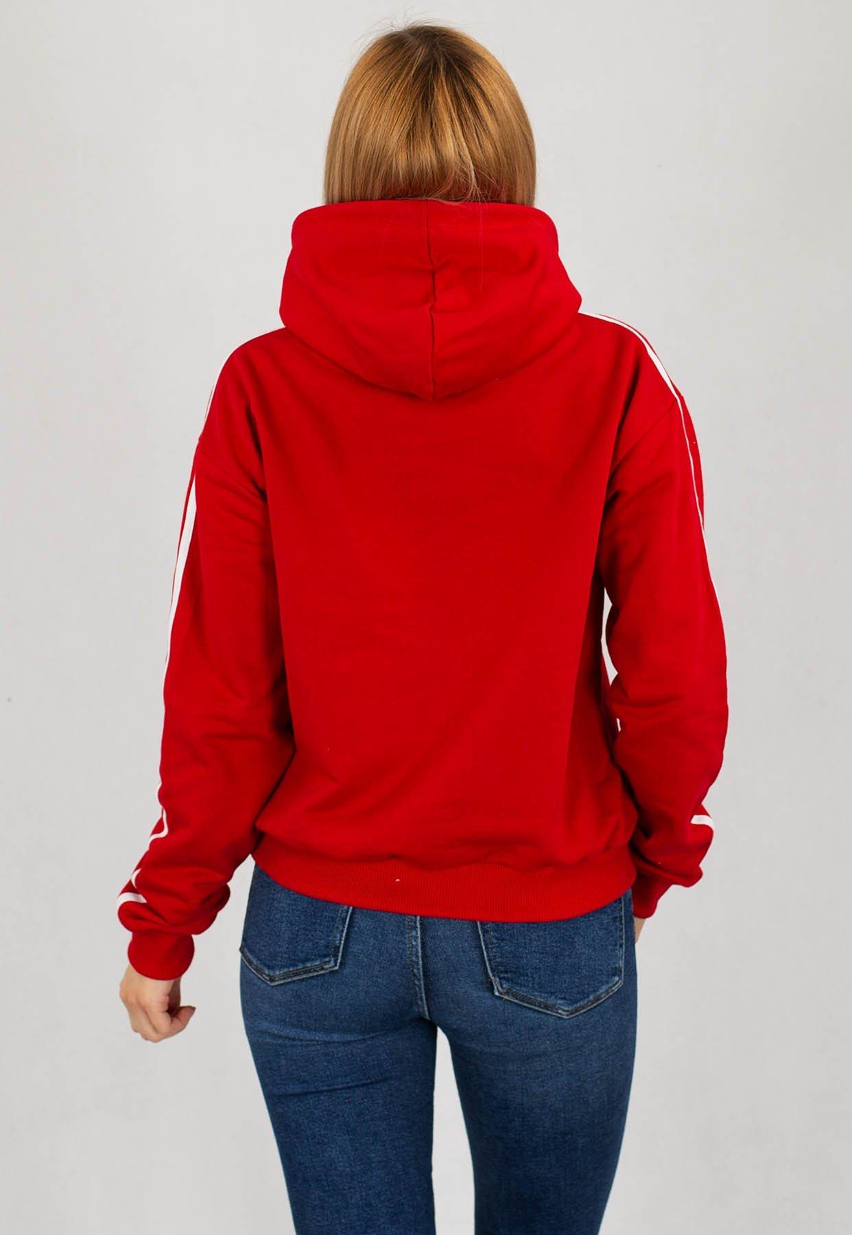 Bluza Lucky Dice Classic PJP czerwona