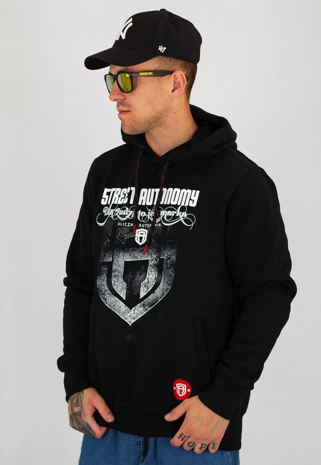 bluza street autonomy athlete czarna