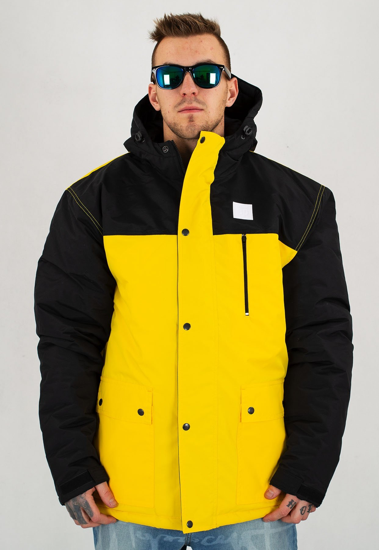 7239e4bc1f88 Kurtka El Polako Alaska Classic żółta