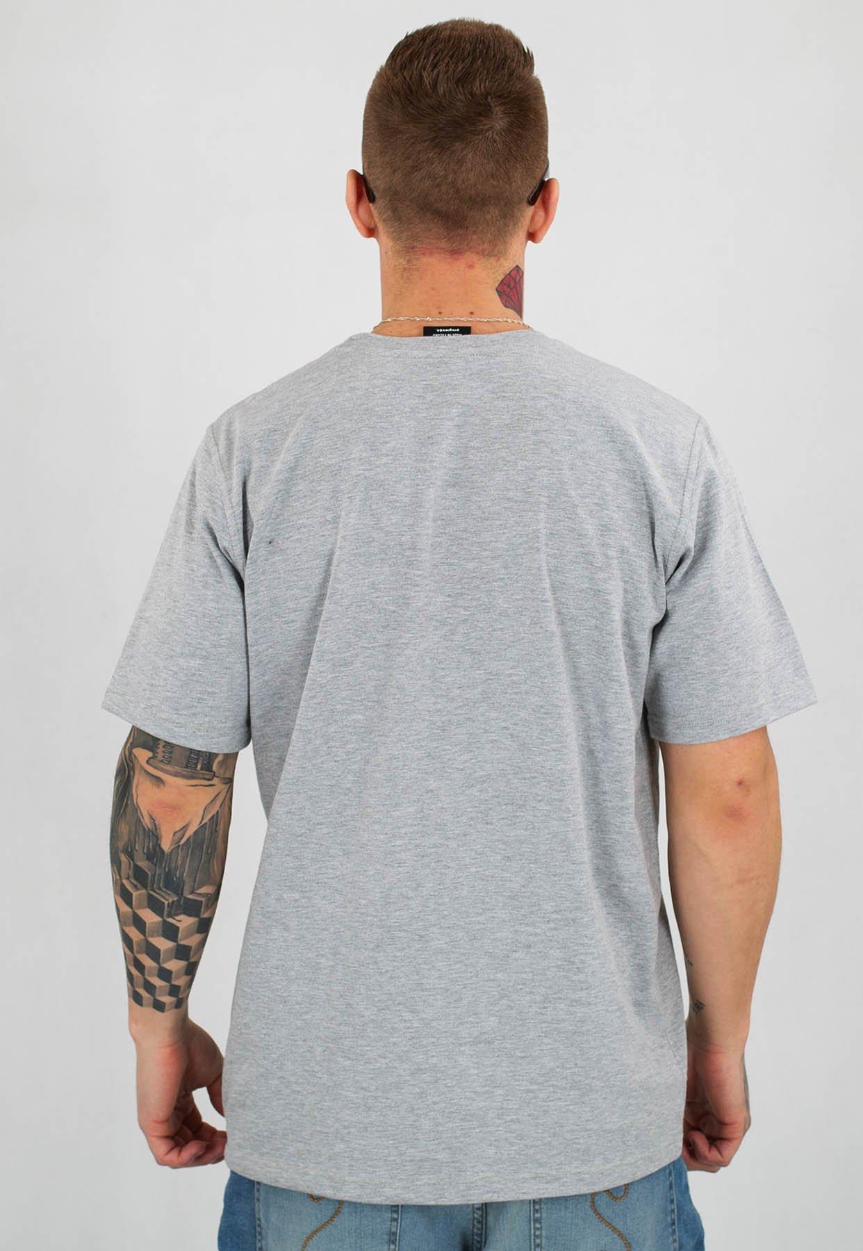 T shirt Dudek P56 Progres 2019 szary
