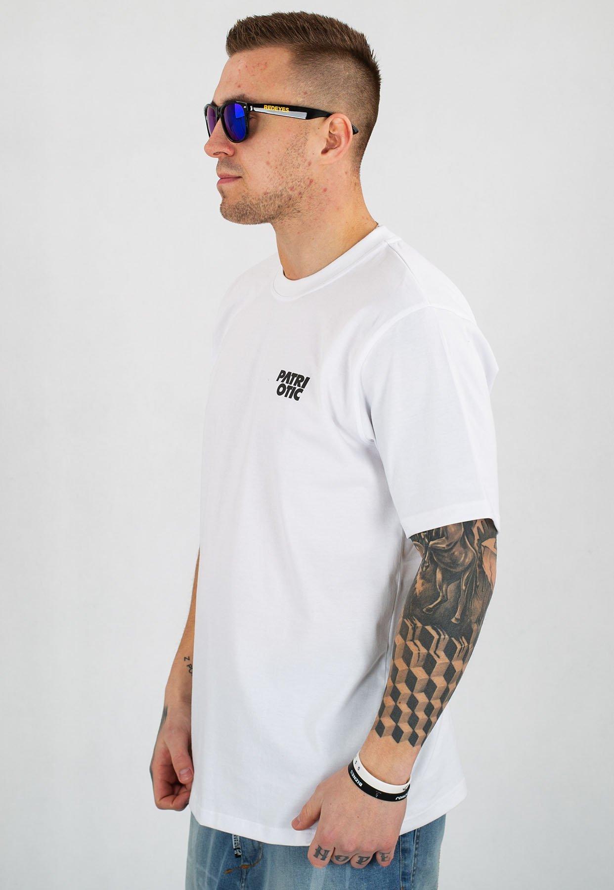 T shirt Patriotic Cls Mini biały