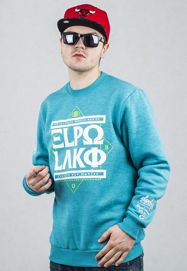 Bluza El Polako Greek turkusowa