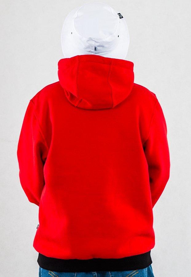 Bluza Gang Albanii Logo czerwono czarna