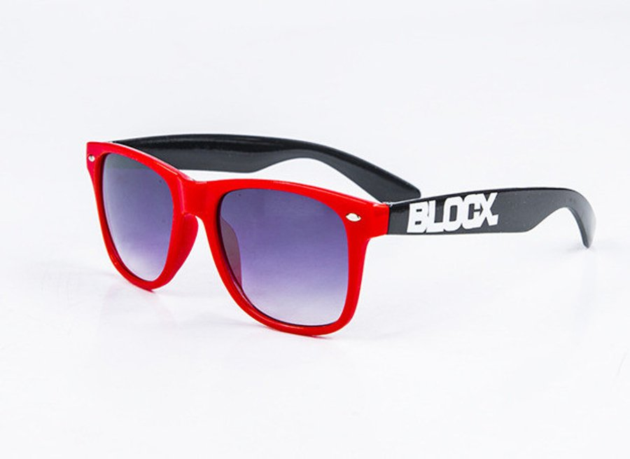 Okulary Blocx Red x Black