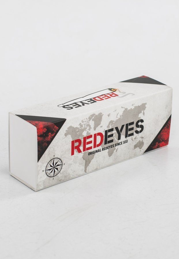 Okulary Red Eyes Queen czarny Mat Q821Z + Opaska Gratis