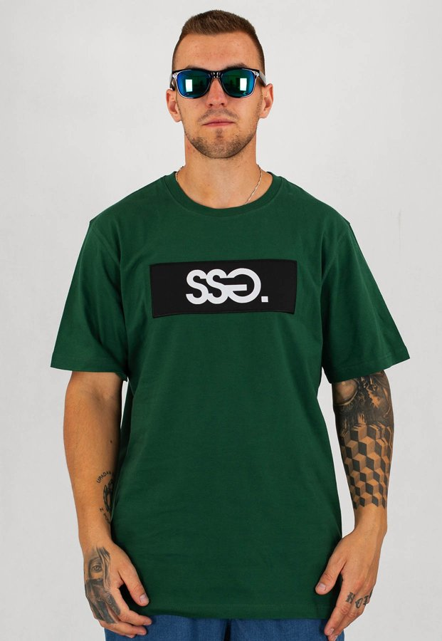 T-Shirt SSG Block zielony