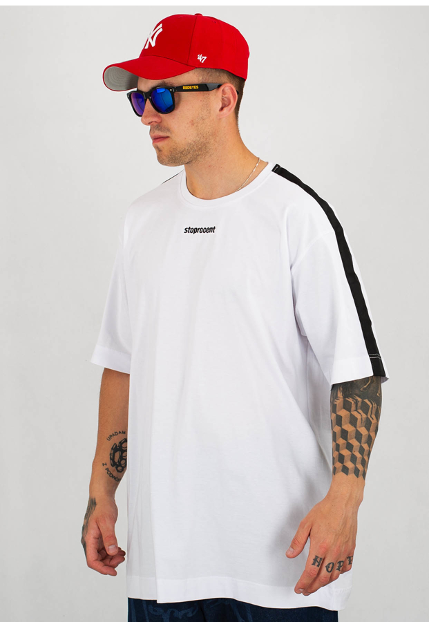 T-shirt Stoprocent Baggy Suprise biały