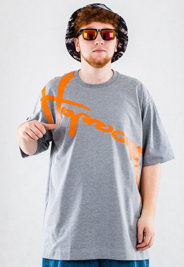 T-shirt Stoprocent Downhill szary