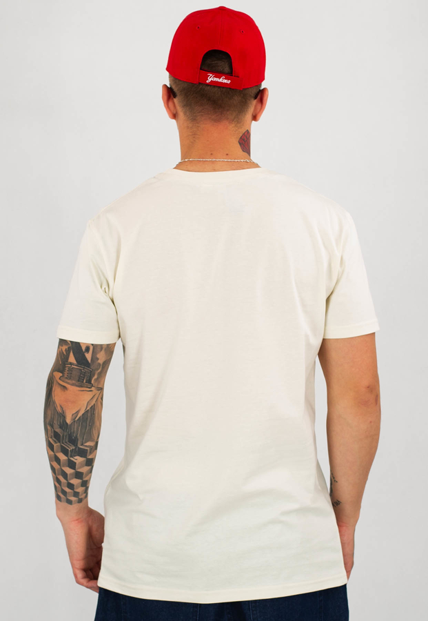 T-shirt Stoprocent Slim Lotag piaskowy