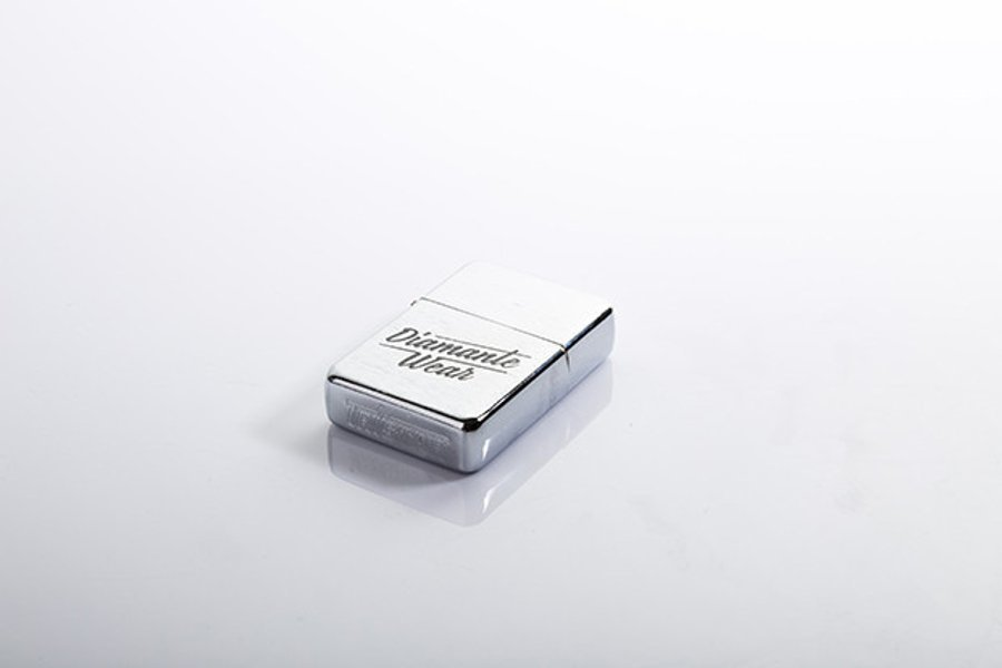 Zapalniczka Diamante Wear 'Diamante Wear' Silver Cube